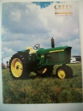 John Deere 1962 Model 3010 gas Tractor Green Magazine October 1993