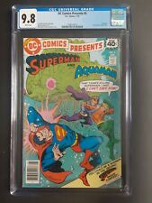 DC Comics Presents #5 CGC 9.8- 1979 Superman and Aquaman