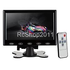 7 inch HD HDMI LCD Display Screen Monitor / VGA / HDMI / AV / Audio Black