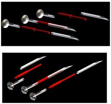 16g Disposable SS Pin Taper for Internally Threaded or Threadless Jewelry
