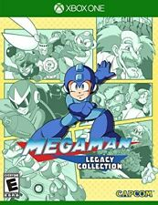XBOX ONE XB1 GAME MEGAMAN MEGA-MAN LEGACY COLLECTION BRAND NEW AND SEALED