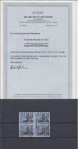 D. Reich Nr. 539y im Viererblock gest. geprüft mit Attest 2400,- Michel