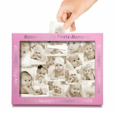 Baby Large Memory Frame Photo Display Collection Box Newborn Unisex Pregnancy