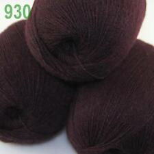 AIP 3 Balls x50gr LACE Soft Acrylic Wool Cashmere hand knit Crochet Wrap Yarn 30