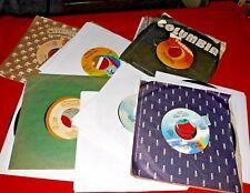 VINYL Records 1970'S 45 RPM Carpenters, Carly Simon, Eddie MOney, Jefferson Star