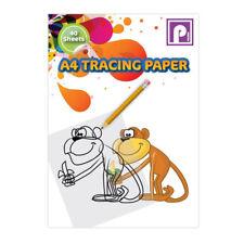 A4 papel de calcar Pad redacción papel 40 Hojas ideal para el Hogar Escuela Oficina