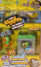 THE UGGLYS PET SHOP exclusive CRACKER PARROT + gross home series 1 NEW SEALED