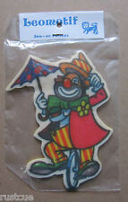 Clown Vintage Leomotif Cloth Sew On Patch Badge Crafting Sewing