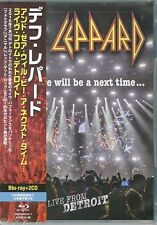 DEF LEPPARD-AND THERE WILL BE A NEXT TIME - LIVE...JAPAN BLU-RAY+2 CD Ltd/Ed W10
