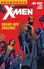WOLVERINE AND THE X-MEN #1 FIRST 1ST PRINT REGENESIS XREGG
