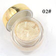 16 Colors Glitzy Shimmer Eye Shadow Glitter Eyeshadow Cream GEL Makeup Powder 2#