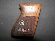 Walther PPK ExtraFancy English Walnut Pistol Grips w/Logo f/German-Made PPK ONLY