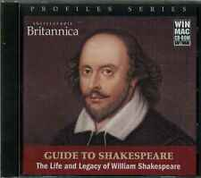 Encyclopaedia Britannica, Guide to William Shakespeare, Life and Legacy Win/Mac