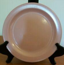 "Boonton Nj Usa Melmac/Melamine Salmon (Pink) 10"" Dinner Plate #102-10"