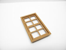 Playmobil Window Médiéval Moyen Age Fenêtre Marron BA159