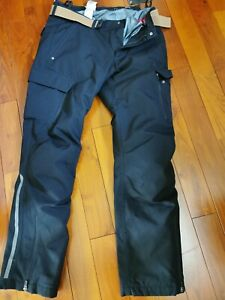 BMW RIDER Men's Motorcycle Waterproof 6 Pocket Cargo Pants Black Size 52 BNWT