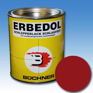 (17,33€/l) 750 ml Farbe rot felgenrot RAL 3002 Deutz Oldtimer Lack