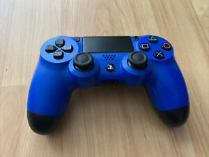 Sony PlayStation 4 PS4 Dualshock 4 Wireless Controller Blue Black Tested Working