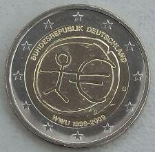 2 Euro Deutschland G 2009 10 Jahre WWU unz