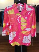 Medium Lulu B Print Blouse Retail $59