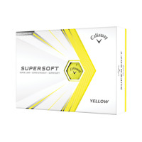 Callaway Supersoft 2021 Golf Balls 2 Dozens 24 pack Yellow