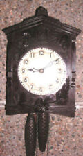 Wall Clock Wood Antique Clocks