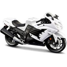 Maisto Kawasaki Ninja ZX-14R Bike Motorcycle 1:12 12028 White