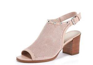 Womens Marc Fisher Parso Peep Toe Sandal Size UK 6 Blush
