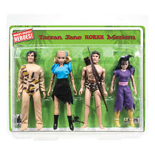 Tarzan Series Mego Style Limited Edition 8 Inch Action Figure Four Pack