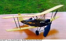 Pitcairn Fleetwing #CA04 Easy Built Balsa Wood Model Airplane Kit Rubber Powered