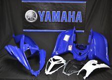 Raptor 700 plastics GENUINE YAMAHA fenders COMPLETE set 2006-2018 BLUE & BLUE