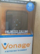 Genuine Vonage Home Phone Service HT802-VD VoIP Device Telephone Adapter D2