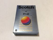 Scotch Video Cassette MP P5 60 Camcorder Tape New Sealed 8