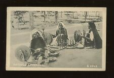 Social History Cottage Industry INDIA Natives SPINNING Calcutta c1910/20s? PPC