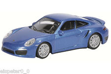 Porsche 911 Turbo (991), saphierbl./Art 452010300, Schuco auto modelo 1:64