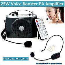 Pretina PA voz ampificador potencia de 5W con Micrófono Inalámbrico De FM Para Profesor