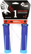 ODI AG-1 Aaron Gwin Signature Lock-On MTB / DH Bike Grips 135mm - Blue
