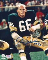 RAY NITSCHKE Signed Green Bay PACKERS 8x10 autographed photo RP