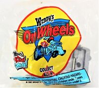 Wendy's Kid's Meal Toy 1996  Wendy's On Wheels Drink Frosty Car NEW