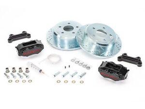 """BAER Brake System 12.2"""" Rear SS4 Kit - Black / Red for 07-18 Jeep Wrangler JK"""