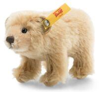 Steiff Bear in Wildlife Gift box - classic mohair polar - 12cm - EAN 026928