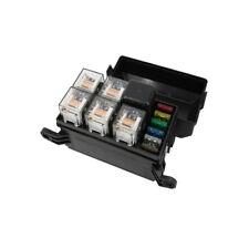 6 Ways Auto fuse box assembly with 1PCS 12V 4Pin 40A + 5PCS 4Pin 12V 40A relay