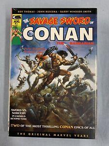 Marvel Comics SAVAGE SWORD CONAN Omnibus Vol #1 DM Vallejo Cvr 2019 Global Ship