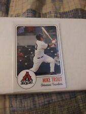 Mike Trout Arkansas Travelers Minor League Rookie