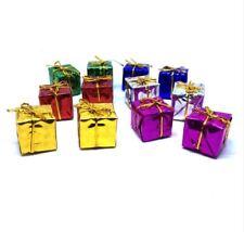 12 Pcs Christmas Tree Decoration Hanging Gift Box Set
