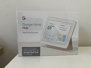 Brand New Google Home Nest Hub with Google Assistant -US Sand Pink