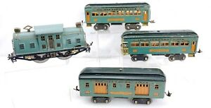 Ives Trains 10E Electric Locomotive Engine 339 Coach 332 Mail 341 Observation...