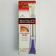 L'Oreal Revitalift Collagen Filler Lip Duo Deep Set Wrinkle Repair Read Descript