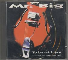 MR. BIG CD BE WITH YOU Live USA 1992