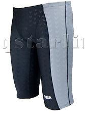 Men Male Racing Competition Racer Trunk  Swimwear Jammer Splice Size 32 XL